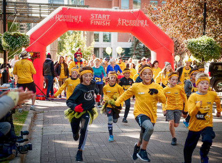 HUNDREDS OF CALGARIANS TAKE PART IN ANNUAL 'RUN FOR CHILDHOOD CANCER'