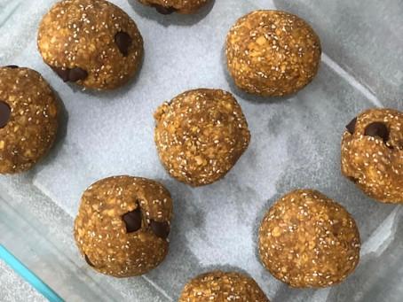 Peanut Butter Honey Energy Balls