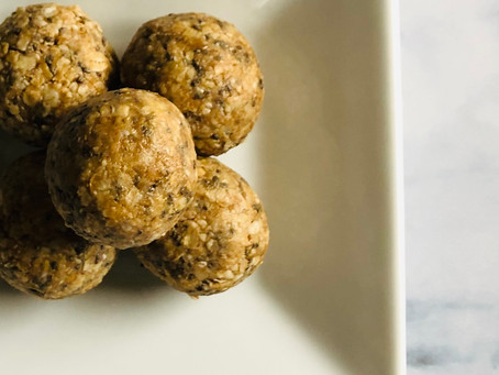 Cashew Power Ball Cookies