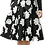 Thumbnail: Blu/Blk/Teal Flare Short Skirt