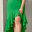 Thumbnail: HIGH LOW RUFFLE DRESS