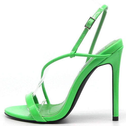 Strap Open Toe Stiletto Heel