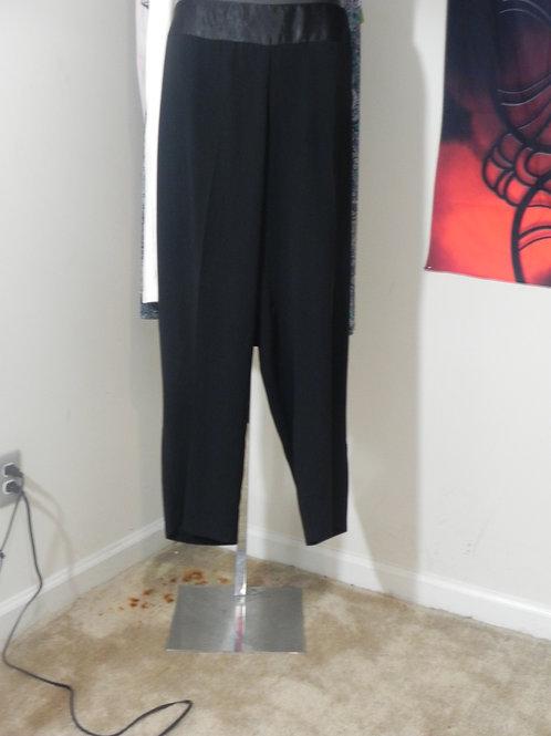 BLACK FORMAL DRESS PANTS