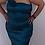 Thumbnail: Teal one shoulder dress