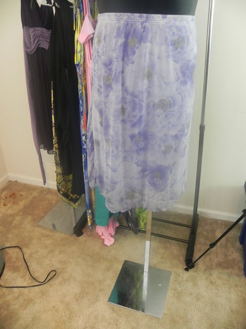 LAVENDER SKIRT WITH LINING