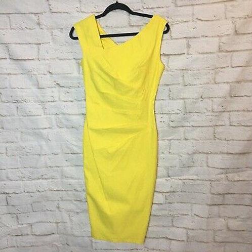 Sleeveless Slim Business Pencil Dress