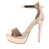 Open Toe Platform Stiletto Heel