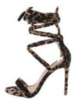 Strappy Ankle Wrap Stiletto Heel