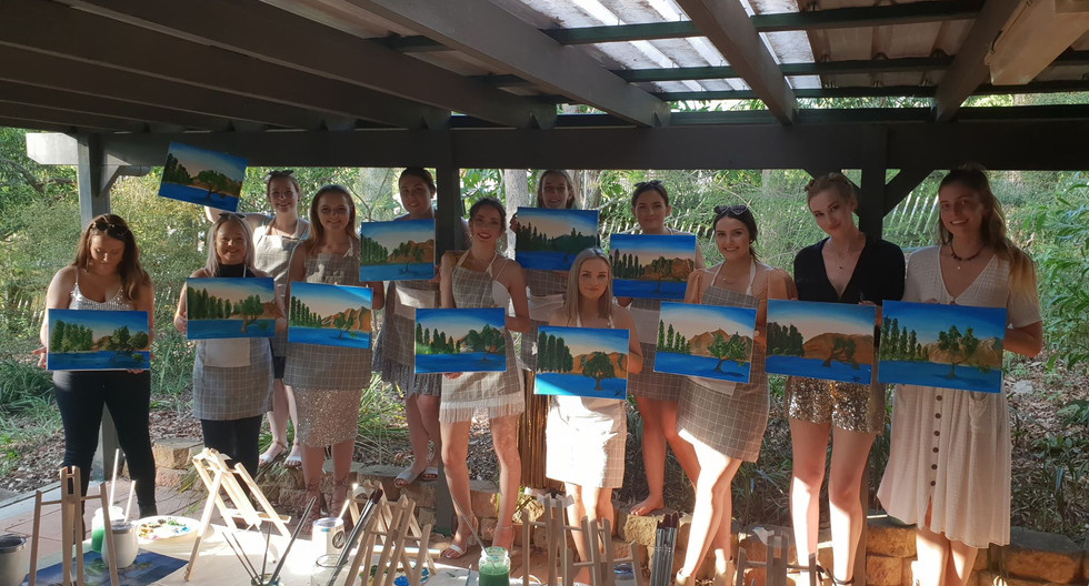 Paint and Sip - Hens Party