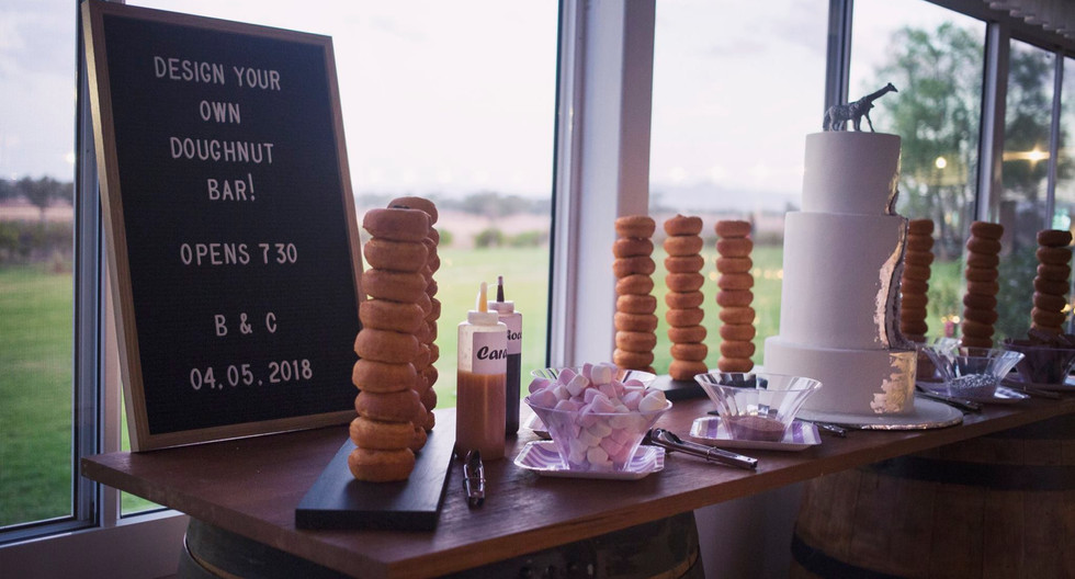 Doughnut bar