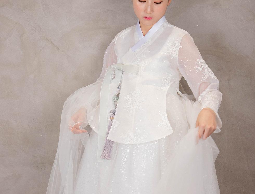 웨딩 드레스 한복 | hanbok wedding dress