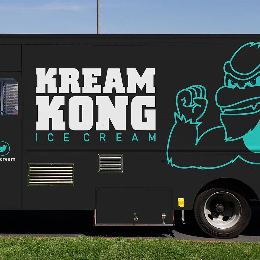 Kream Kong Ice Cream (Truck)