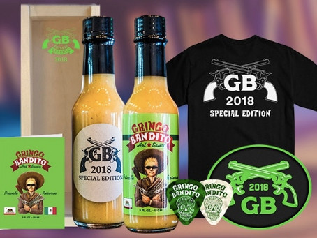 Gringo Bandito Unveils 2018 Private Reserve Hot Sauce