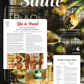 Saute Magazine - Silva's