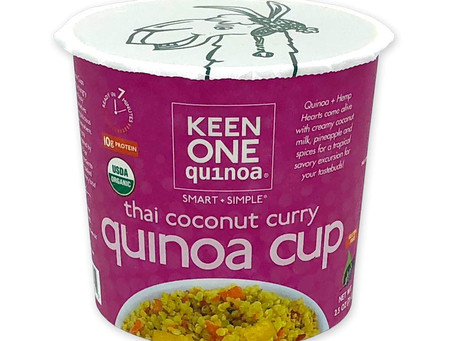 Keen One Quinoa Announces New Thai Coconut Curry Quinoa Cups