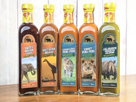 African Dream Foods Announces Store Launch And Kickstarter Campaign Success For New Sauce Line
