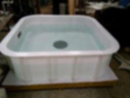 бассейн для разведения рыбы