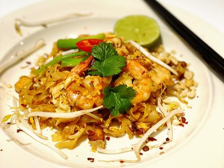 Chicken & Prawns Pad Thai with Flavours by Jones Pad Thai sauce
