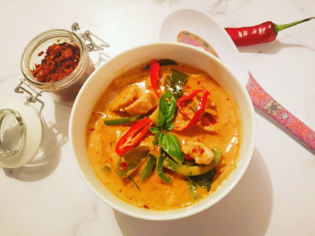 Chicken Red Curry with Flavours by Jones' homemade curry paste