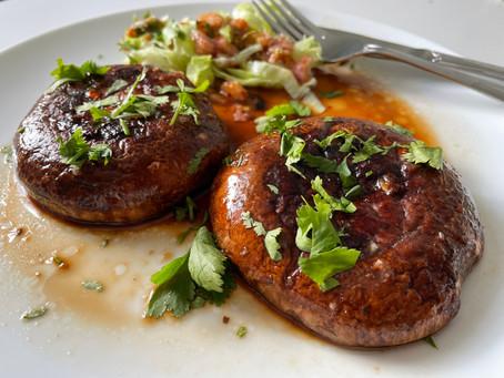 Thai Vegan Steak with Jaew Dipping Sauce