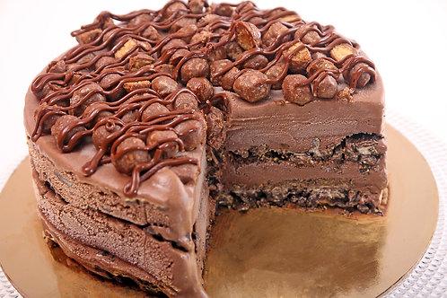 Belgian Chocolate Ice Cream Cake