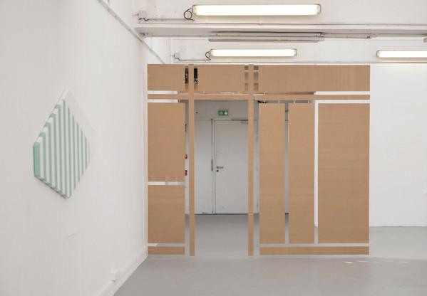 sheets #3 dans l'exposition Still life, 2019