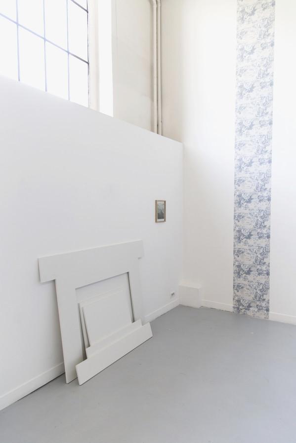 vue dans l'exposition HM SWT HM, 2017