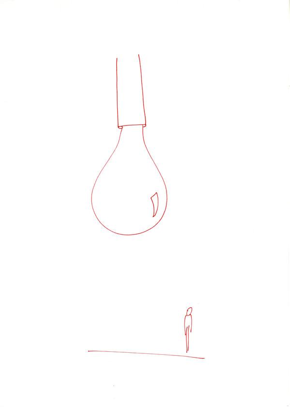 Sans titre, stylo sur papier, A4, 2015