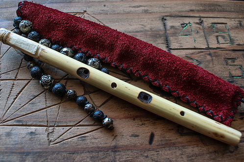 Tiny Flute & Carrying Pouch