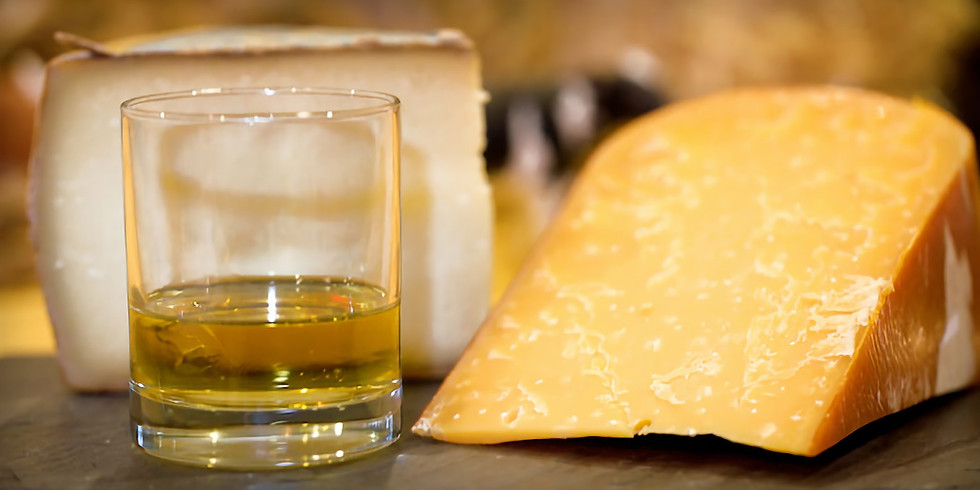 March 17 Whiskey & Cheese Class