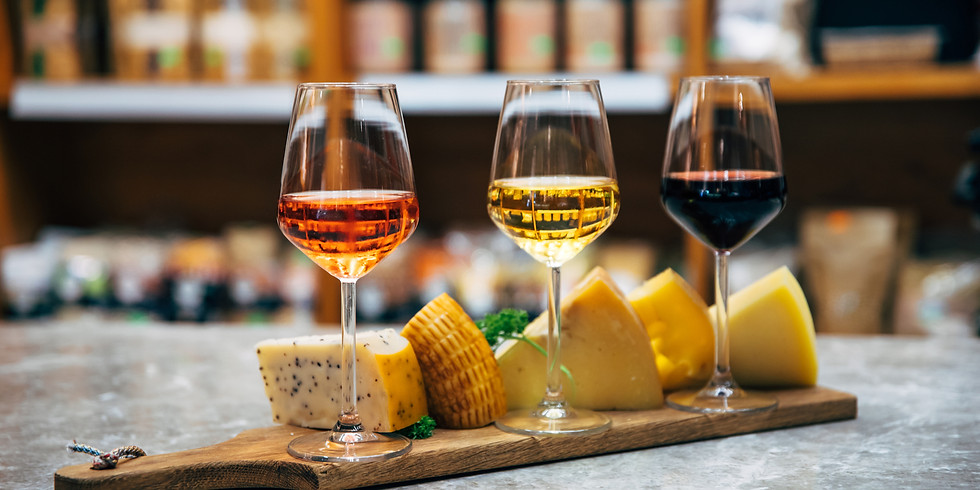 Virtual Cheese and Wine Pairing Class - February 5th @ 6:30pm