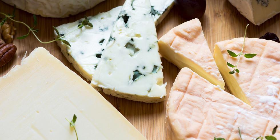 January 24th Wine & Cheese Pairing Class