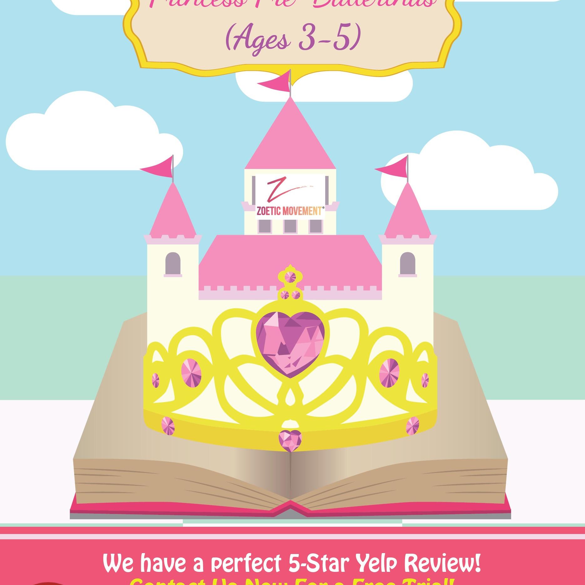 Free Trial Princess Ballerina (Age 3-4)