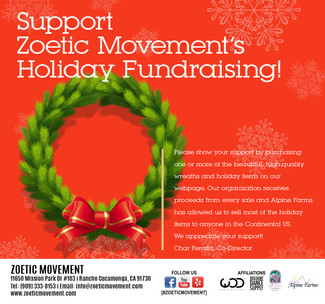 Zoetic Movement needs your support!