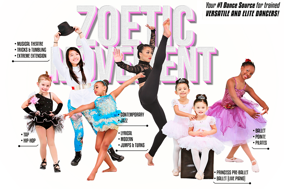 Zoetic Movement Versatile and Elite Dancers