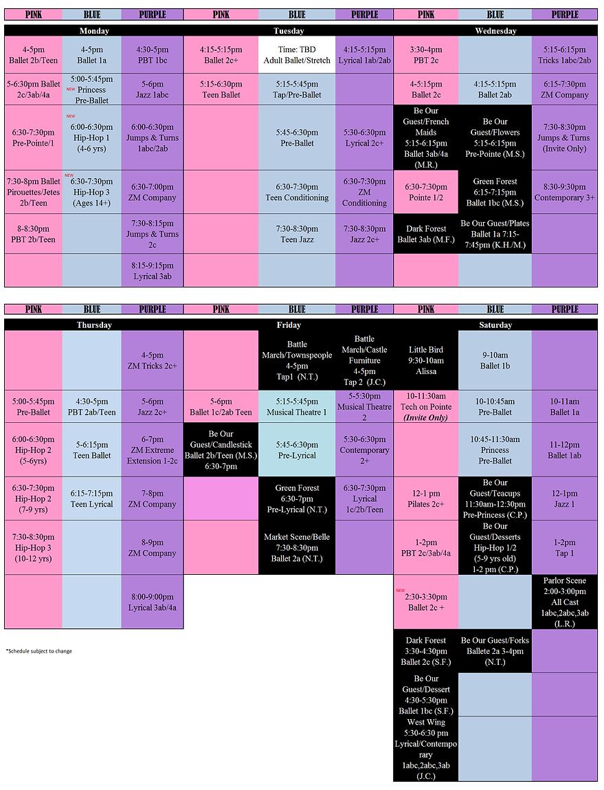 Zoetic Movement Classes 2016