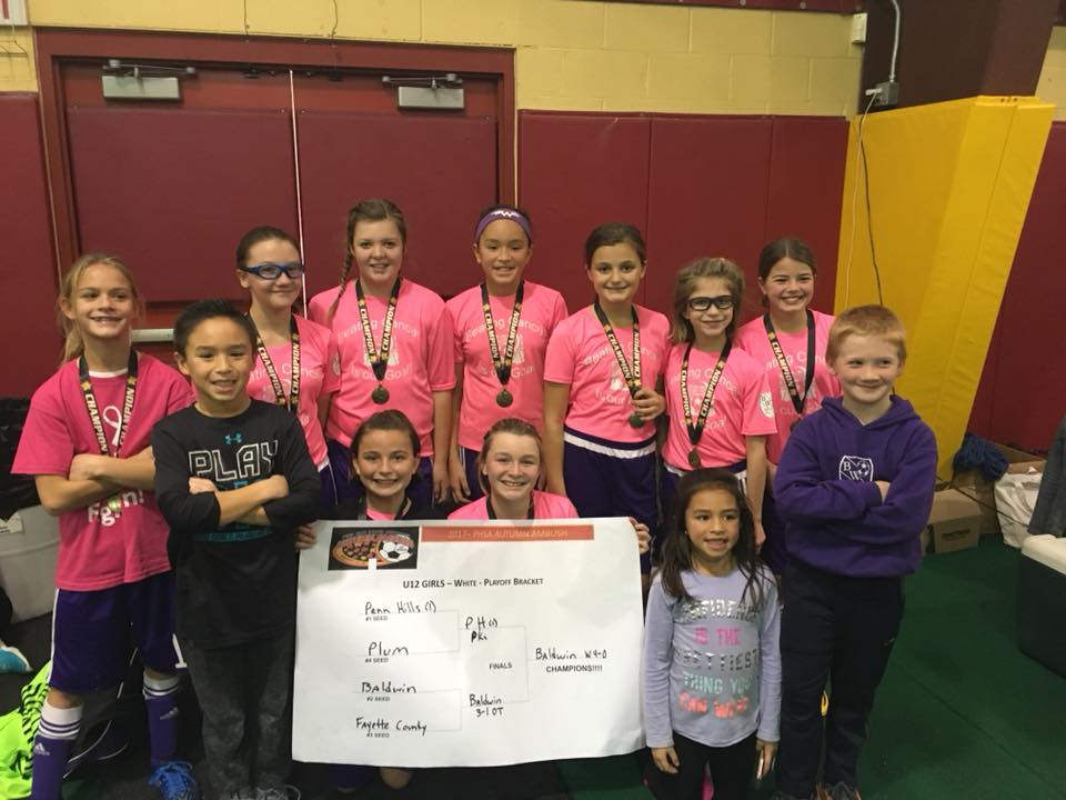 Congrats, U12 Girls Silver DivisionGirls Champions!!!