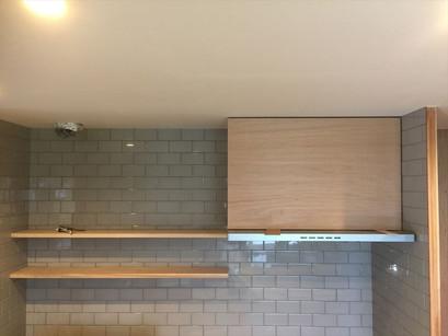 造作キッチン、大工が作ります。