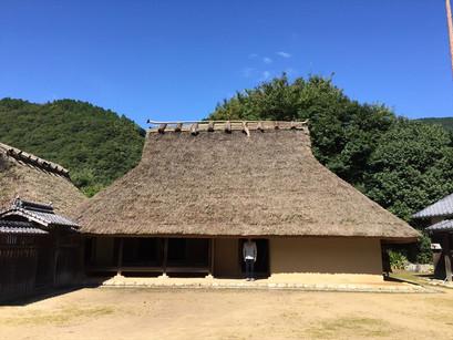 神戸市の箱木家住宅。
