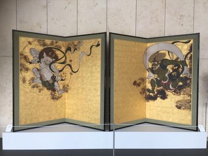 「風神雷神図屏風」京都国立博物館へ。