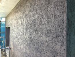 外壁仕上げ、スーパー白洲そとん壁。