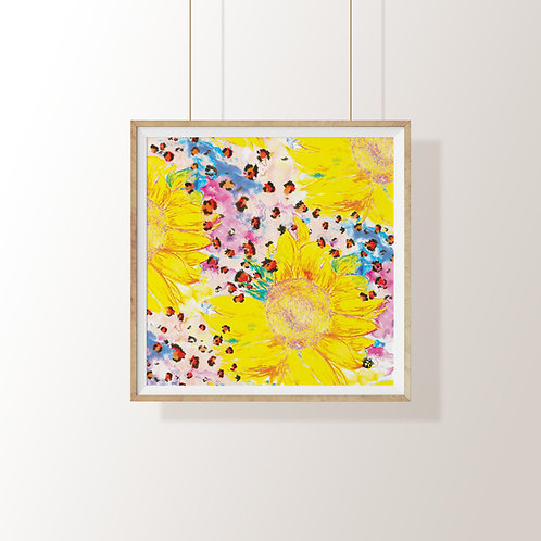 Chelsea Morning Yellow Art Print