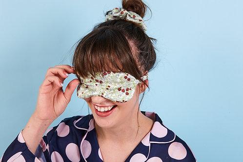"""""""Ladybird"""" Silk Eye Mask"""