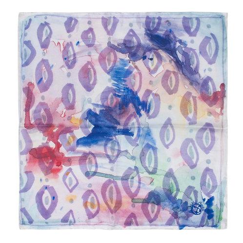 """Art Studio"" Silk Pocket Square"