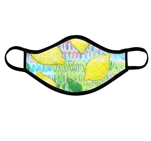 PRE-ORDER Amalfi Lemons Face Covering (non medical mask)