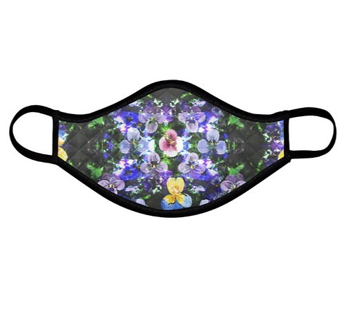 PRE-ORDER Pansy Face Covering (non-medical mask)