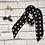"Thumbnail: ""Polka Dot"" Bitsy Silk Scarf"