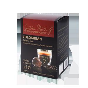COLOMBIAN 5.2g CAPSULES  (Nespresso Compatible)