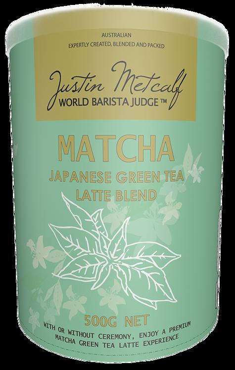 MATCHA GREEN TEA LATTE - 500g CAN