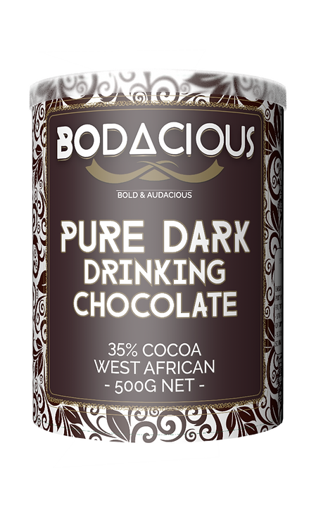 PURE DARK DRINKING CHOCOLATE (35% Cocoa) - 500g